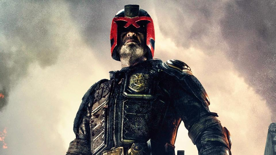 Judge Dredd has previously been played in movies by Sylvester Stallone and Karl Urban.