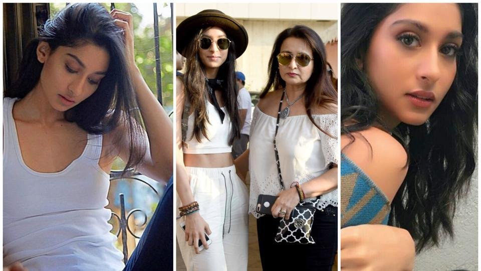 Poonam Dhillon's  daughter Paloma Thakeria Dhillon grabbed eyeballs at Justin Bieber's concert  in Mumbai.