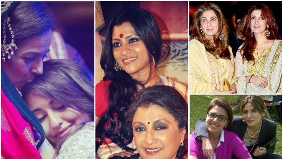 Here's a look at some of the most stylish mother-daughter jodis of Bollywood.