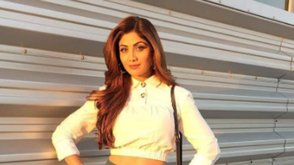Actor Shilpa Shetty Kundra shot for Big Brother and Life in a...Metro simultaneously.