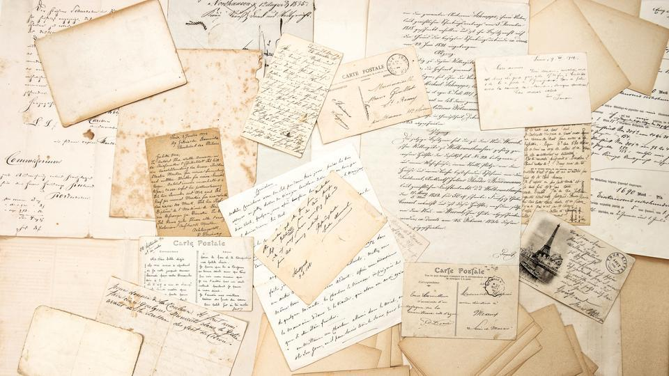 A New Jersey resident found a love letter at her home and got it delivered to the addressee using help from social media.