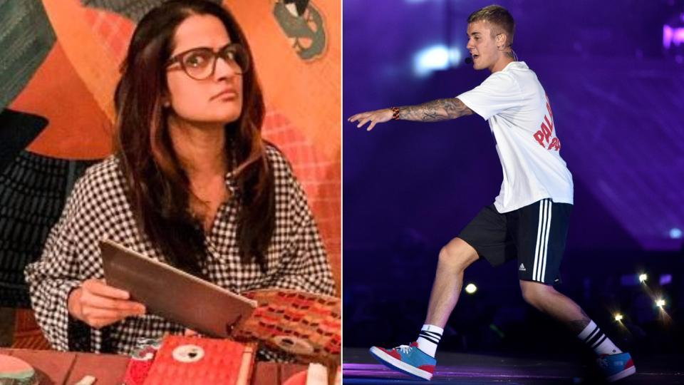 Singer Sona Mohapatra took a jibe at Canadian pop singer Justin Bieber's  maiden India concert.