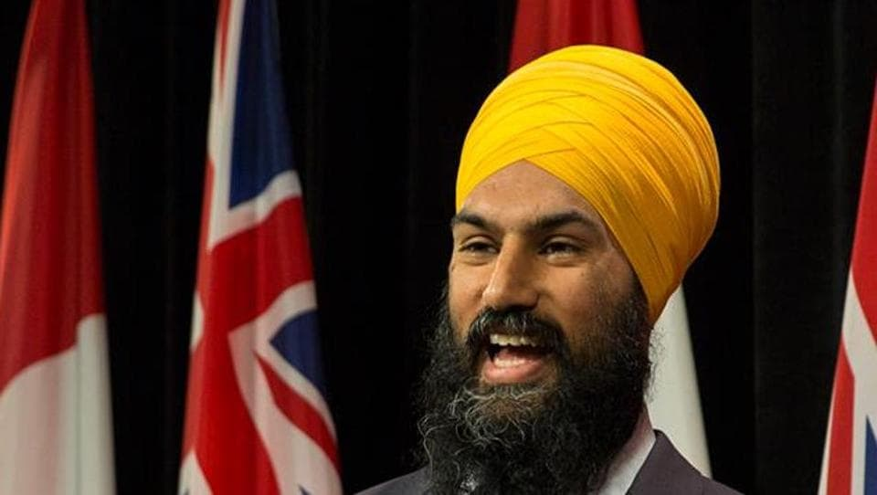 File photo of Canadian politician Jagmeet Singh, who was denied a visa by India in 2013. Singh is expected to run for the leadership of the NDP, one of Canada's three major national political parties.