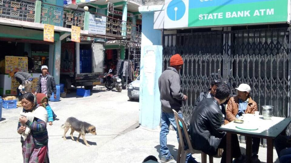 Kaza,Himachal Pradesh,ATM