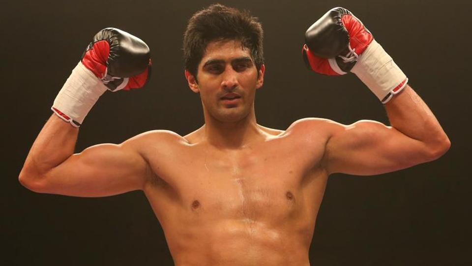 Vijender Singh is undefeated so far in his pro career winning all his eight bouts.