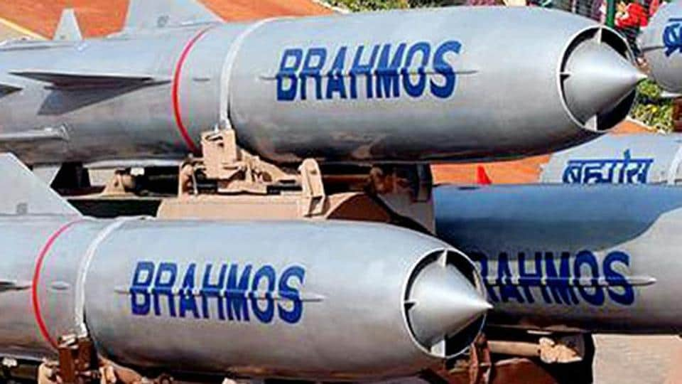 BrahMos missiles on display during a Republic Day parade. India is working on guidelines to allow private firms to  join hands with foreign firms to build high-tech weapons in the country.