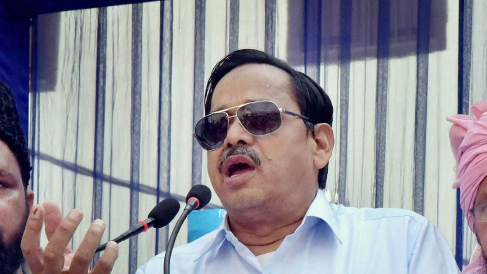Senior BSP leader SC Mishra informed about Naseemuddin Siddiqui's expulsion from BSP on Wednesday.