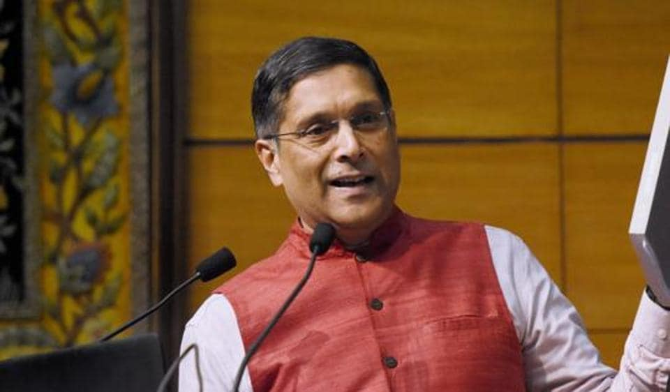 Chief Economic Adviser Arvind Subramanian.