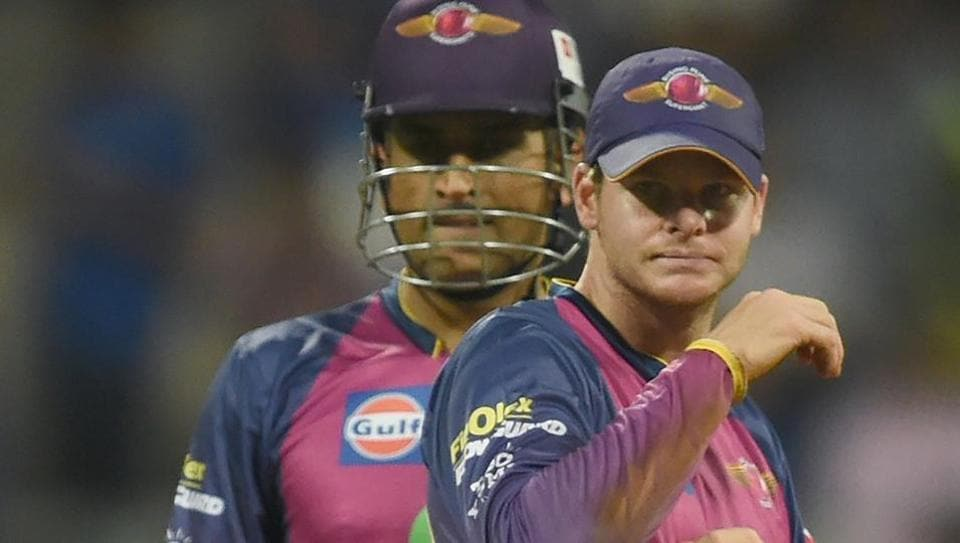 While Mahendra Singh Dhoni (L) was the Rising Pune Supergiant captain last year,Steven Smith took over from the Indian in IPL 2017.