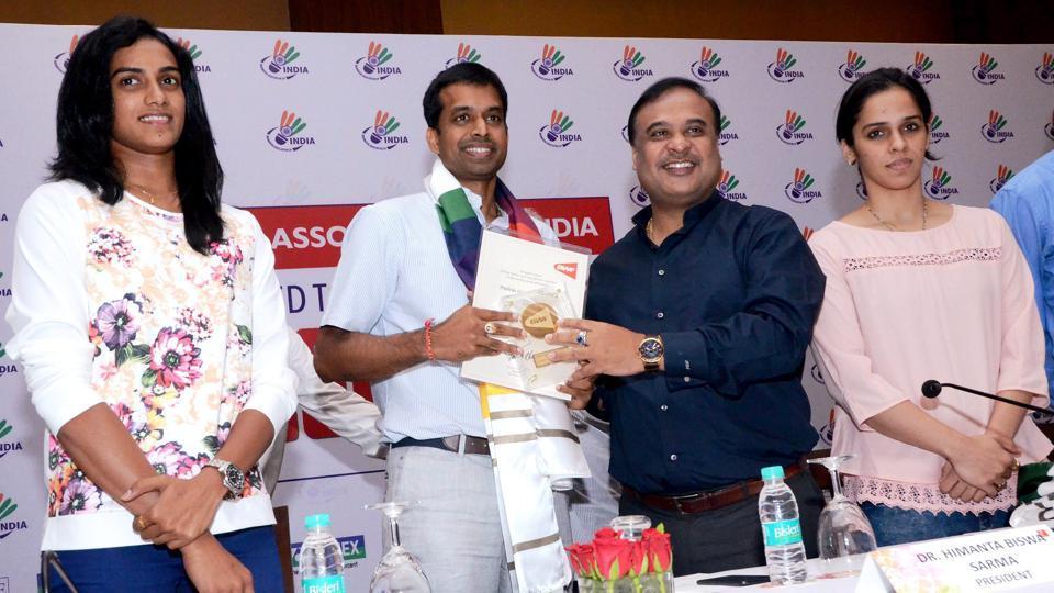 Saina Nehwal,PV Sindhu,Badminton Association of India