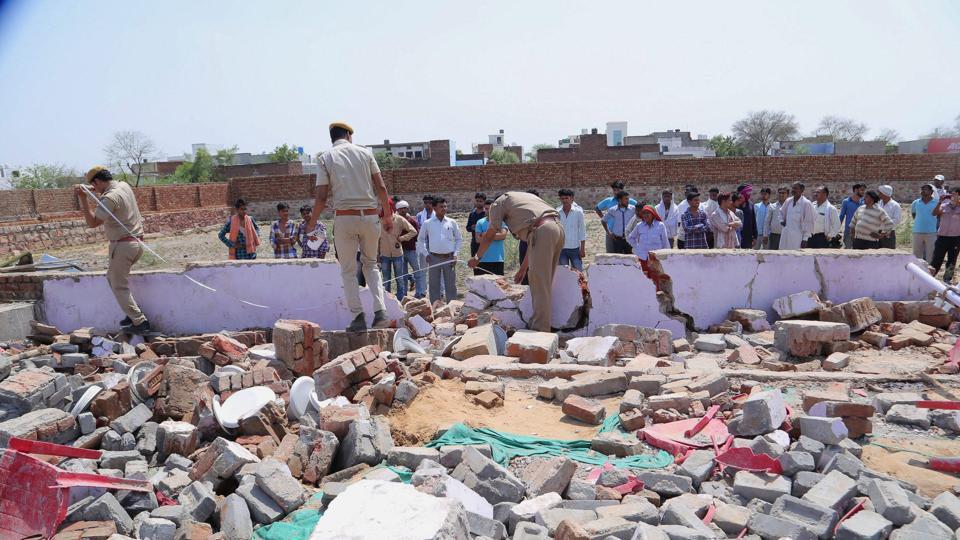 Bharatpur wall collapse,Wedding hall,Rajasthan