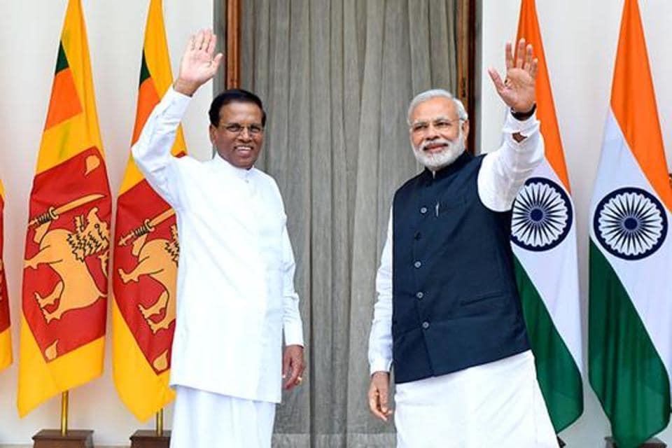Sri Lankan President Maithripala Sirisena reached Delhi to attend Prime Minister Narendra Modi's oath-taking ceremony at Rashtrapati Bhawan.