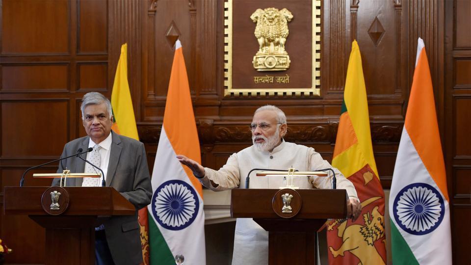 Narendra Modi,Sri Lanka,Maithripala Sirisena