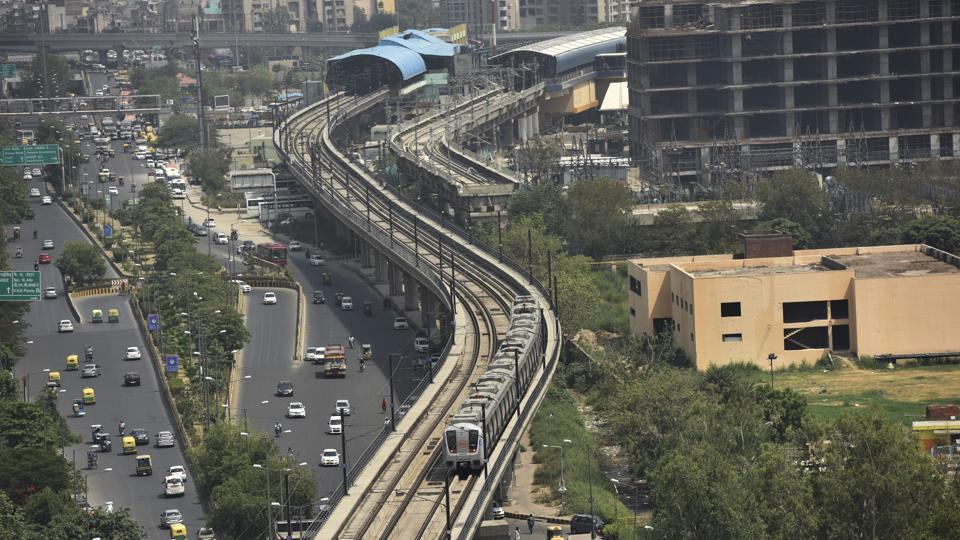 Noida First Day Of Delhi Metro Fare Hike Sparks Smart