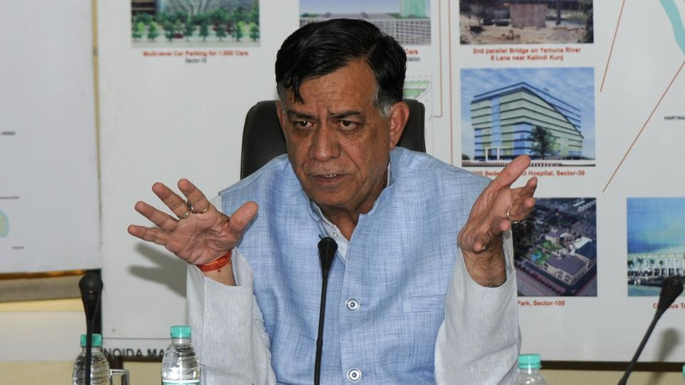 The minister, after meeting with buyers, realtors and officials on Thursday, was clueless on how the problems of the homebuyers will be solved. The main issue for the delay in processing 39 OC applications is land dues. The authority is to recover Rs20,000 crore in land dues.