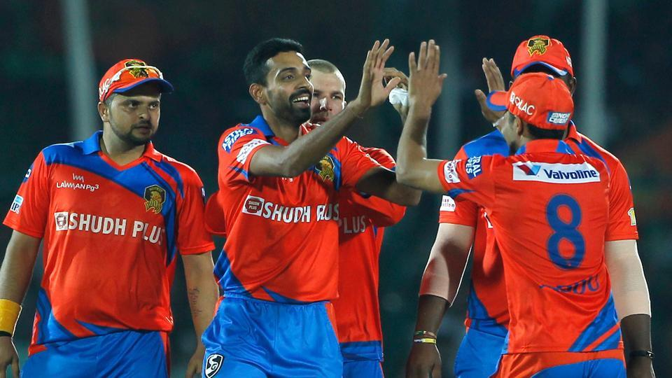 Gujarat Lions' jersey in IPL 2017 carries the name of 'Shudh Plus' - a manufacturer of pan masala and tobacco products. As per law, with any promotion of tobacco products a warning must be given to public, stating ' chewing or consuming tobacco products is injurious to health'.