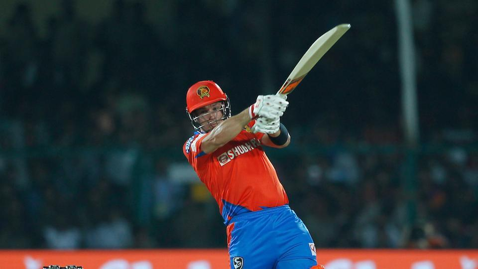 However, Aaron Finch combined with Dinesh Karthik to take GL to a total of 195/5. (BCCI)
