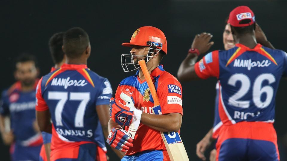 Raina himself departed after scoring just six runs. (BCCI)