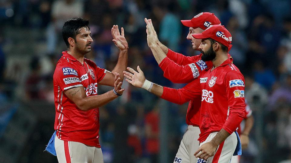 Mohit Sharma held his nerve in the final over to hand Kings XI Punjab a seven-run win in the IPL 2017 match against Mumbai Indians at the Wankhede Stadium in Mumbai. Get highlights of Mumbai Indians vs Kings XI Punjab here.