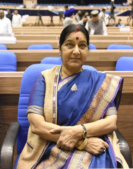 Odisha CM Naveen Patnaik asked Sushma Swaraj to intervene for rescuing Indian workers allegedly held in Saudi Arabia.