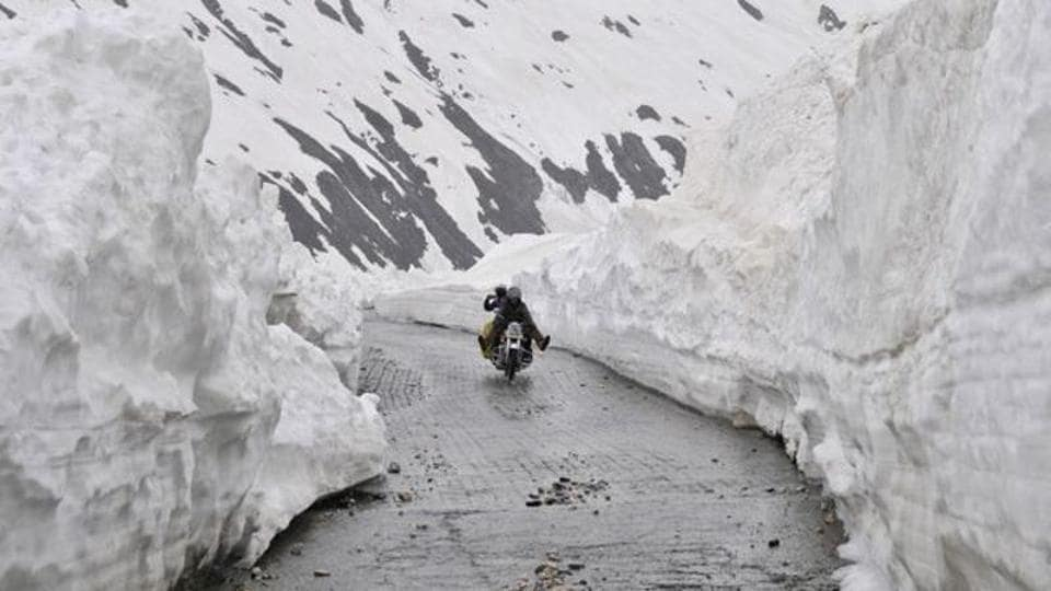 The over 500-km highway passes through the Zojila Pass — 3,528 metres above the mean sea level — which remains annually closed during winter months as it receives heavy snowfall.
