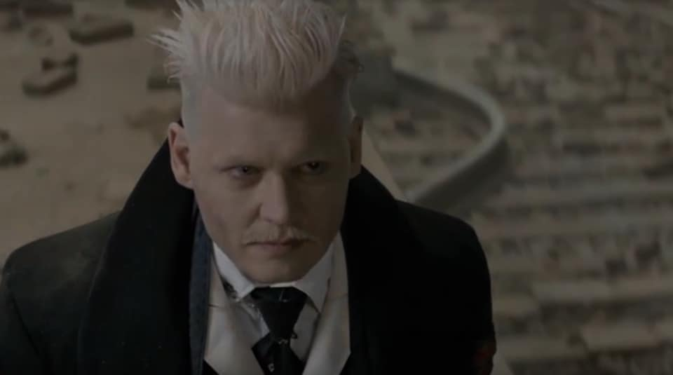 Potter fans were in for a magical treat when Depp made an appearance as Gellert Grindelwald at the end of Fantastic Beasts and Where to Find Them.