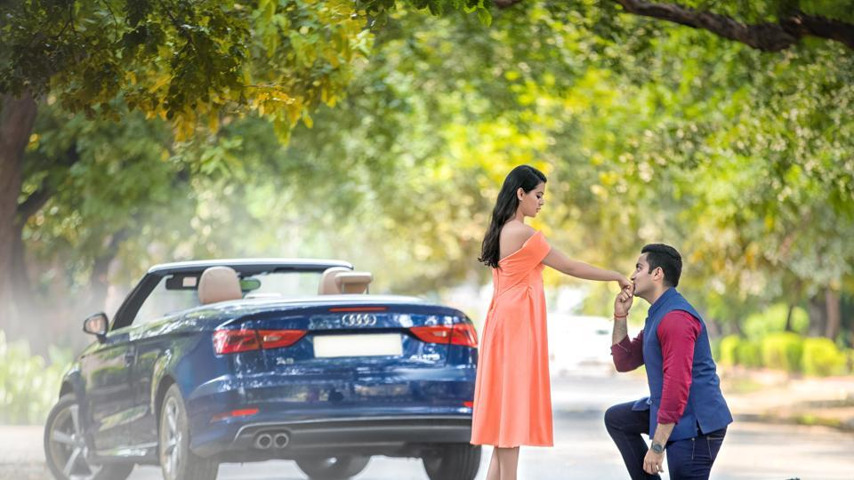 From resorts to farmhouses, Gurgaon is becoming a go-to destination for couples for their pre-wedding shoots.