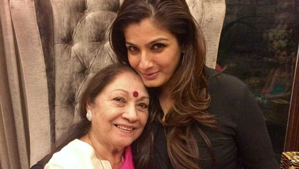 Actor Raveena Tandon says however many times one apologises to one's parents, for the hurt we put them through , it is not enough.