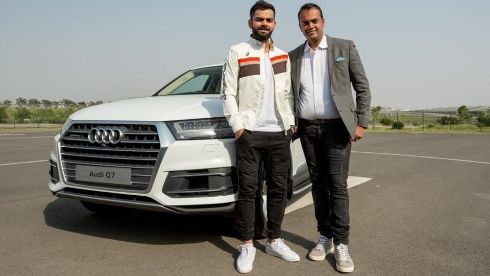 Virat Kohli Adds An Audi Q7 To His Car Collection Ahead Of Icc