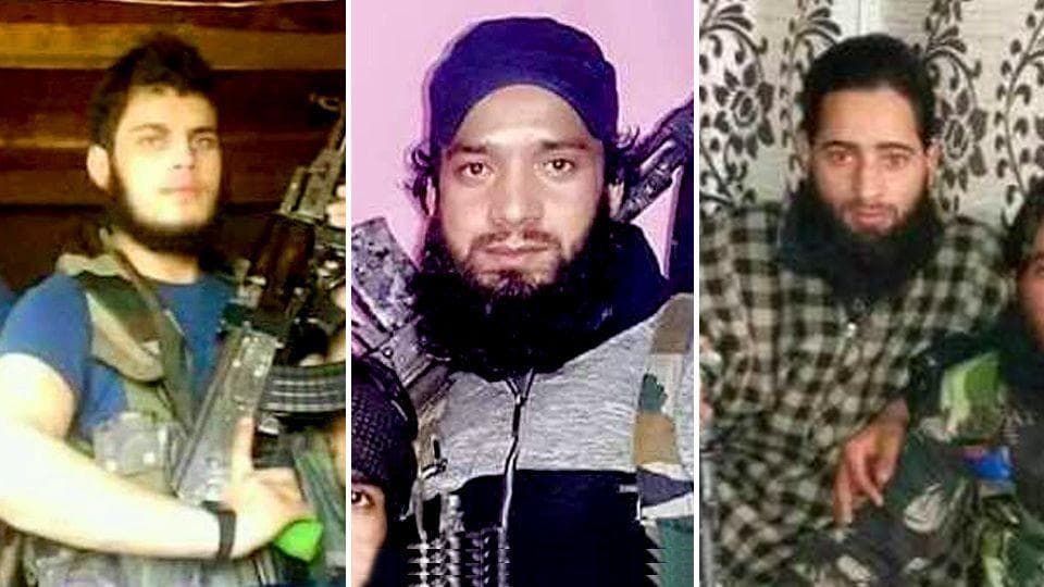 Hizb operatives Ishfaq Ahmad Thokar, Gayas-ul-Islam and Abbas Ahmad Bhat were said to be part of the group that abducted Ummer Fayaz from a wedding in south Kashmir's Shopian and killed him.