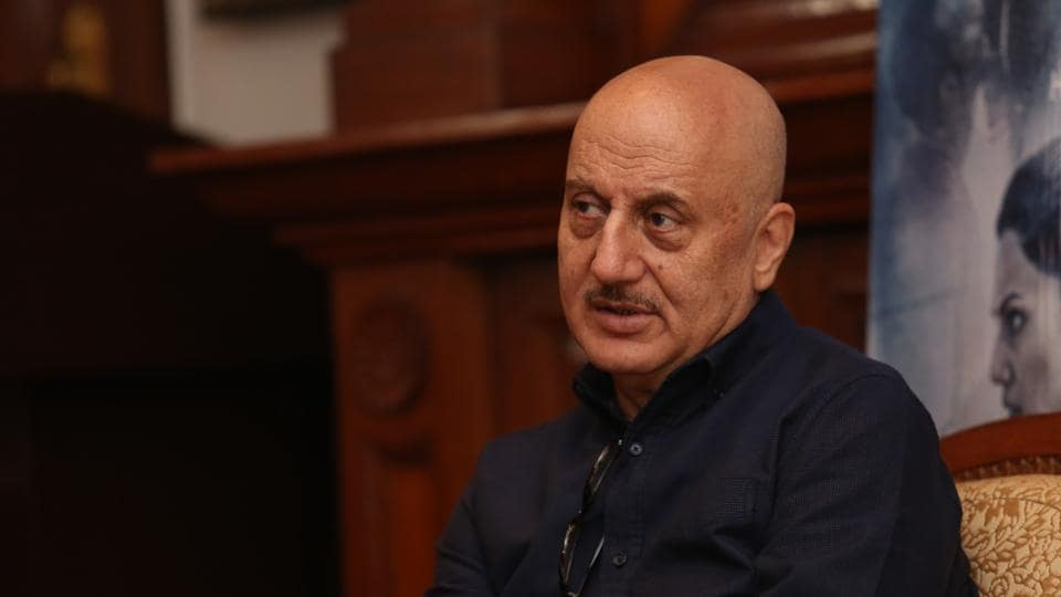 Actor Anupam Kher says he doesn't bother about how much time he will get on screen.
