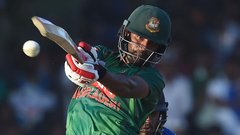 Bangladesh opener Tamim Iqbal was batting on 64 when rain stopped play in the trination series match against Ireland. New Zealand are the third team in the competition. Catch full cricket score of Ireland vs Bangladesh here.