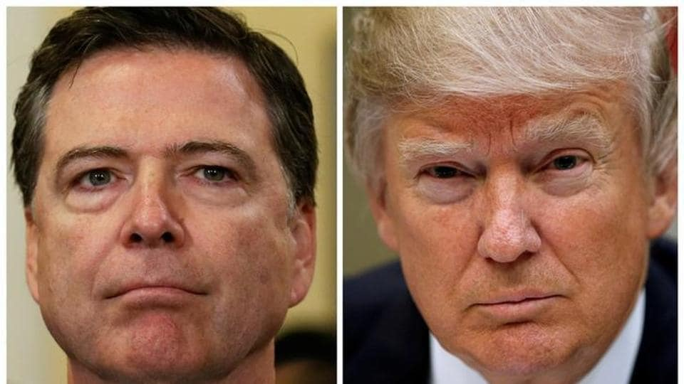 James Comey,Donald Trump,FBI