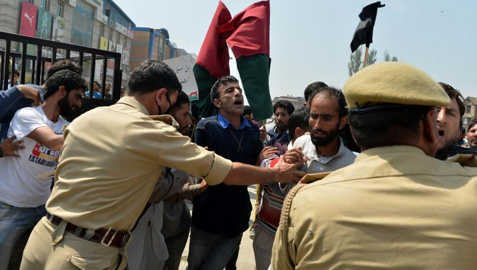 Kashmir has been on the boil for months now with civilians clashing with security officials.