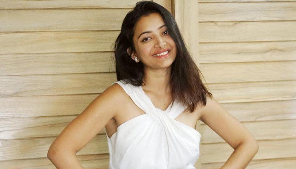Actor Shweta Basu Prasad at her Andheri apartment