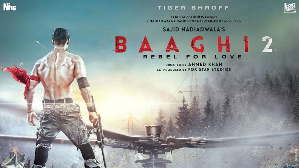 Tiger Shroff will be seen doing daredevil stunts in Baaghi 2.