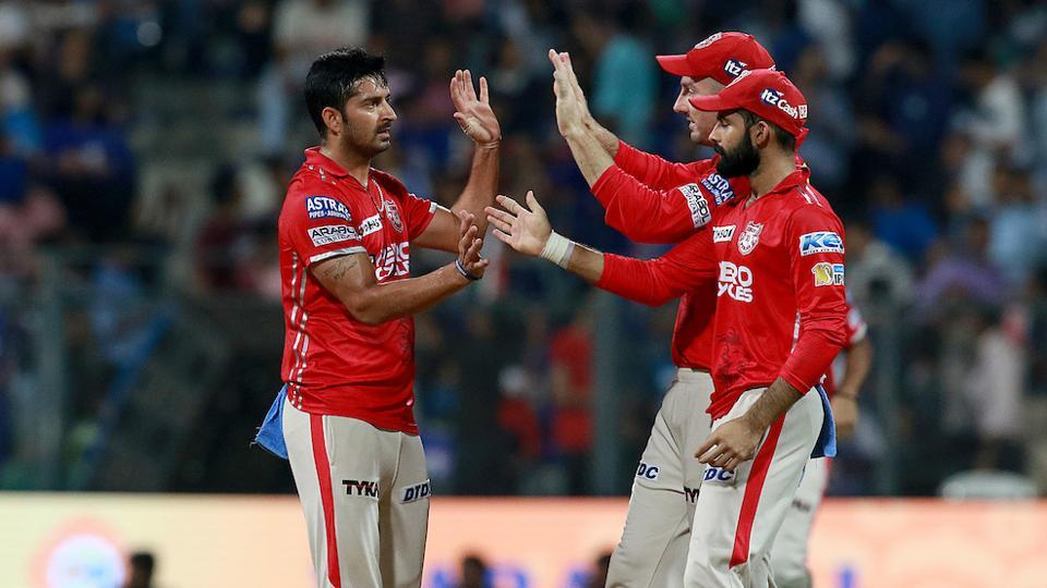 Kings XI Punjab held their nerve to beat Mumbai Indians by seven runs in an epic IPL 2017 encounter at the Wankhede Stadium in Mumbai on Thursday. (BCCI)