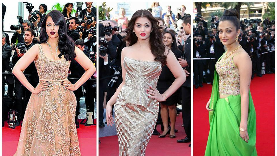 Aishwarya Rai's Cannes journey in the last 15 years.