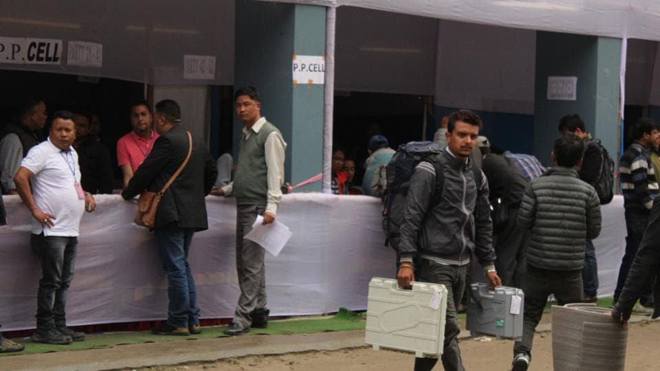 Preparations for Sunday's poll in the four municipalities of Darjeeling, Kurseong, Kalimpong and Mirik.
