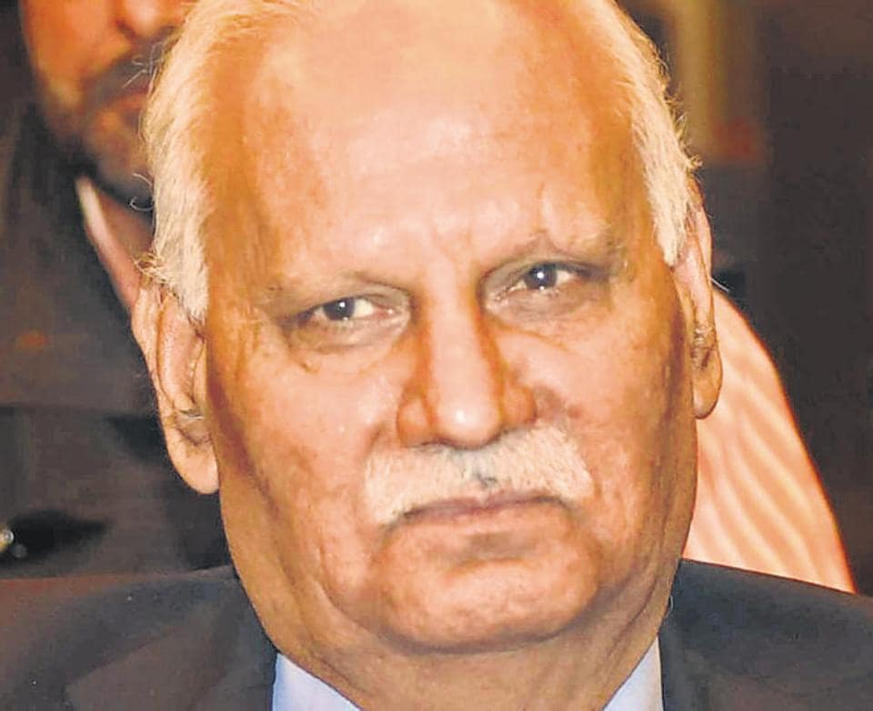 Punjab expenditure and governance reforms commission chairman KR Lakhanpal.