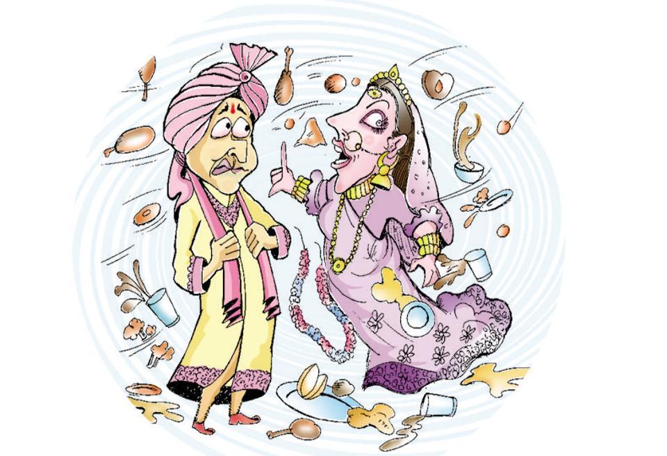 Bihar wedding,bride dumps groom,computer engineer