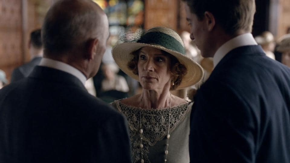 A still from Downton Abbey series.