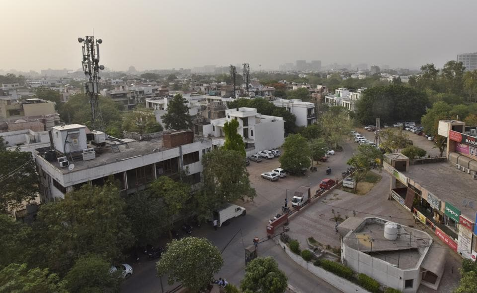 Sushant Lok is one of the private colonies in Gurgaon that are to be transferred.