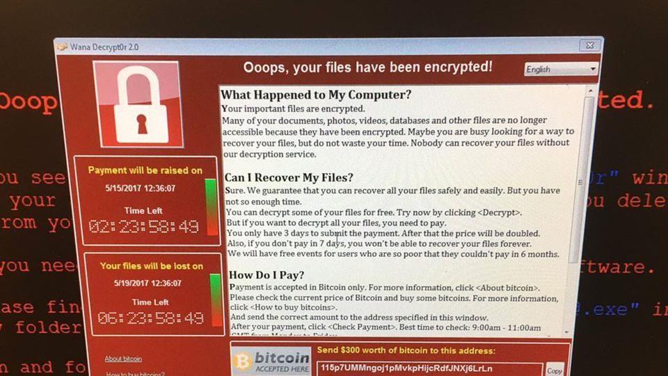 Ransomware attack,NSA,Malware attachments
