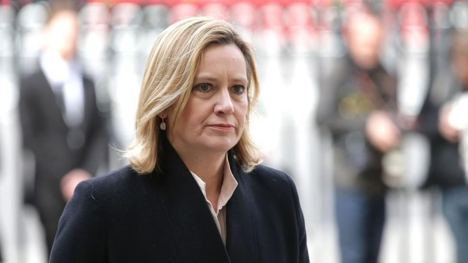 UK's home secretary Amber Rudd said the government did not know if the attack was directed by a foreign government.