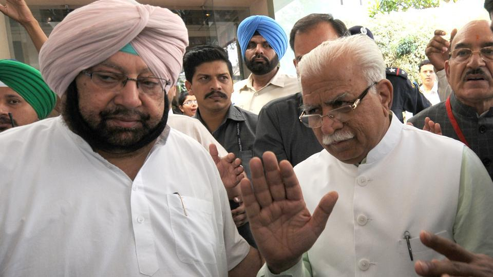 Punjab, Haryana ready for talks on SYL canal dispute