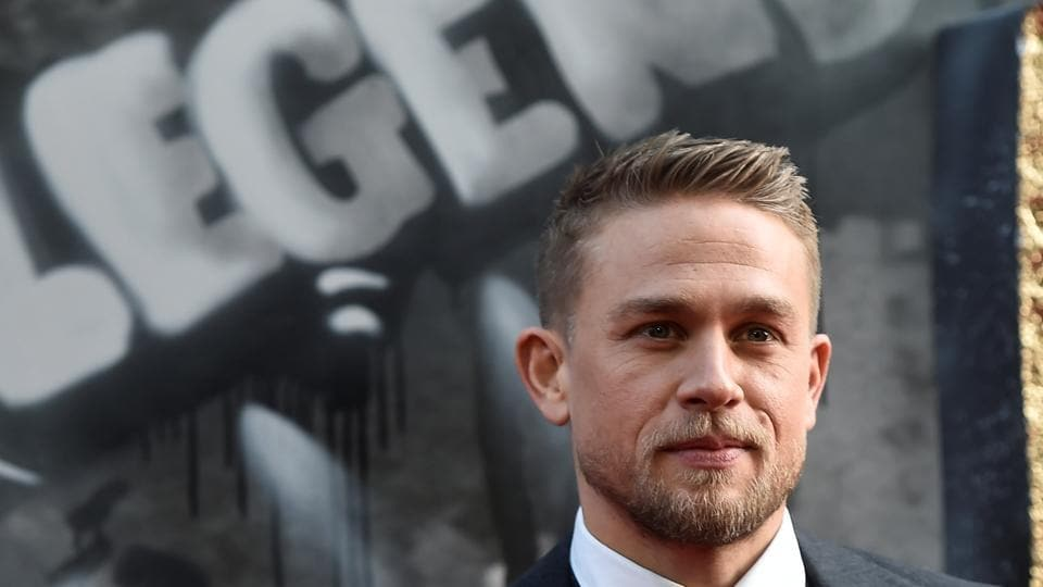 Actor Charlie Hunnam poses at the European premiere of King Arthur: Legend of the Sword in London, Britain on May 10.