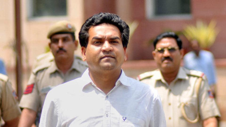 Kapil Mishra,Aam Aadmi Party,AAP