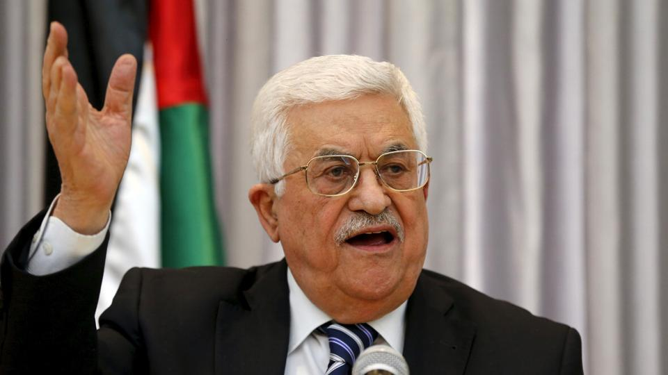 Mahmoud Abbas,India,Palestine