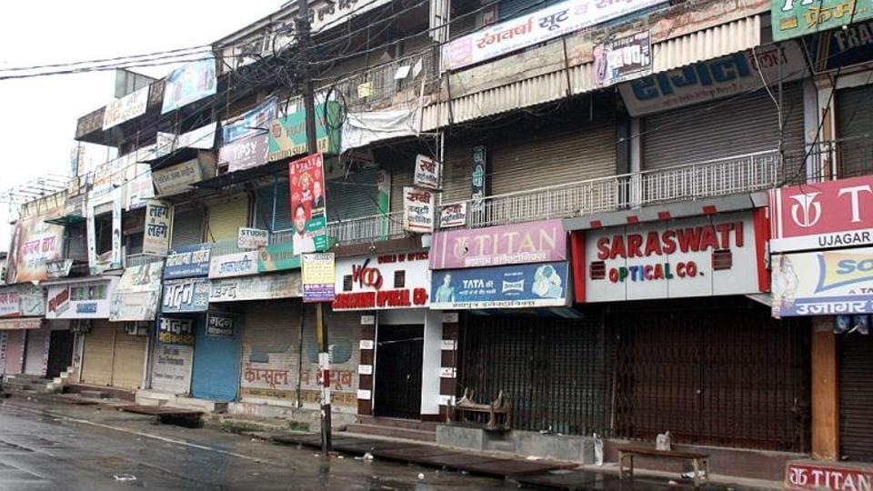 Communal tension,Curfew,Baswara district